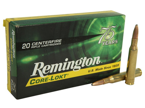 Remington Express Ammunition 270 Winchester 130 Grain Core-Lokt Pointed Soft Point (20pk)