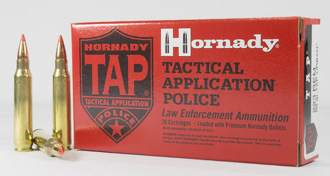 Hornady TAP Ammunition 223 Remington 55 Grain V-Max (20pk)