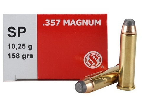 Sellier & Bellot 357 Magnum 158 Grain Soft Point (50pk)