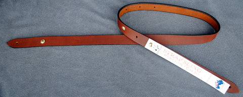 "Dingo Leather 1"" Sling Strap Brown Outback"