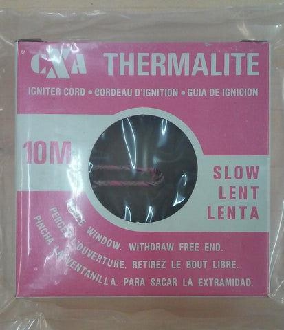 CXA Thermalite Igniter Cord 10M Slow (Cannon fuse)