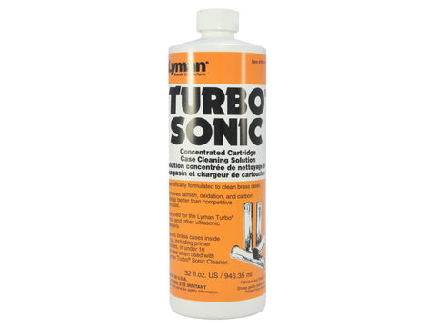 Lyman Turbo Sonic Ultrasonic Case Cleaning Solution Liquid (32oz)