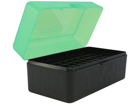 MTM Flip-Top Ammo Box 7mm Winchester Short Magnum (WSM), 300 Winchester Short Magnum (WSM), 45-70 Government 50-Round