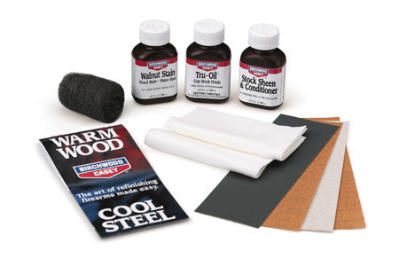 Birchwood Casey GSK Tru-Oil Stock Finish Clam-Pack Kit