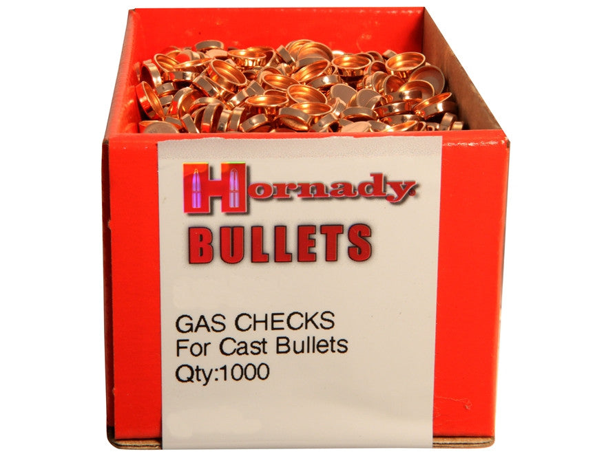 Hornady Gas Checks 30 Cal (1000pk)
