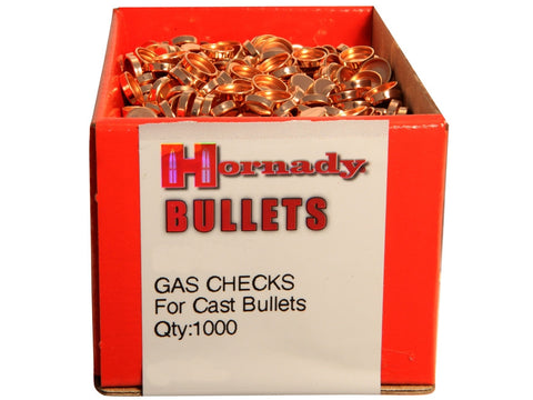 Hornady Gas Checks 25 Cal (1000pk)