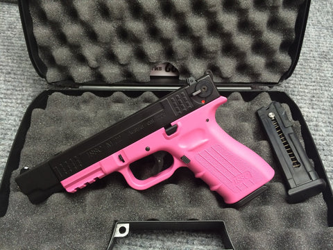 New ISSC Model M22 Pink Frame 22 Long Rifle (2613)