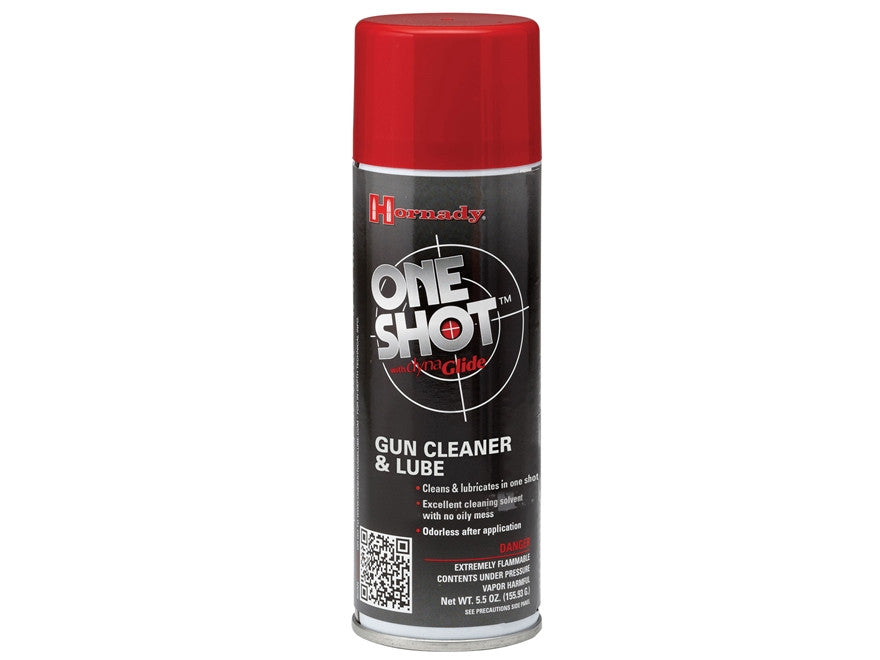 Hornady One Shot Gun Cleaner with Dyna Glide Plus (5.5oz)