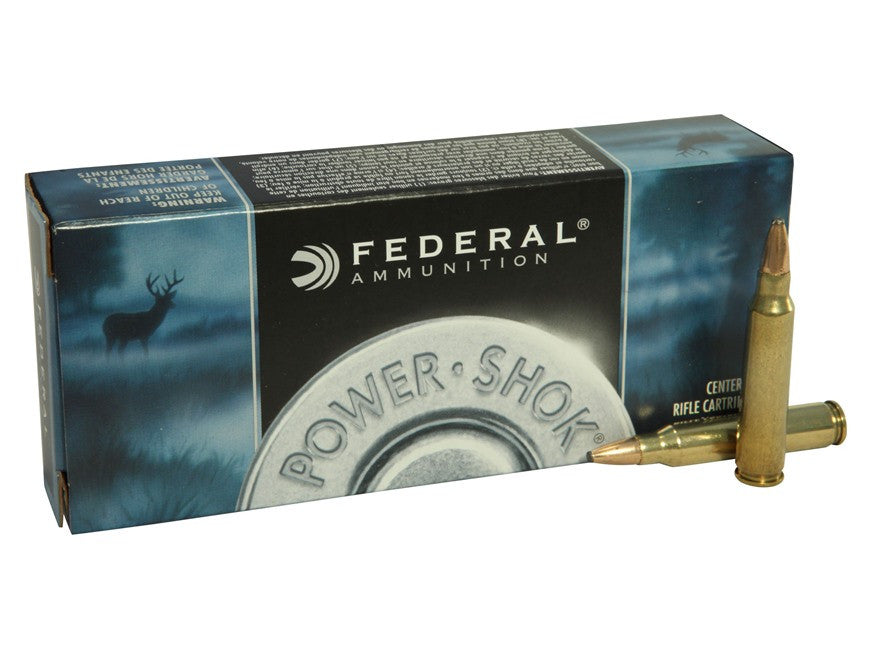 Federal Power-Shok Ammunition 223 Remington 55 Grain Soft Point (20pk)