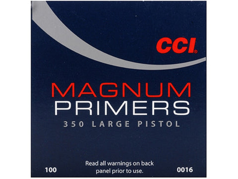 CCI Large Pistol Magnum Primers #350 (100pk)