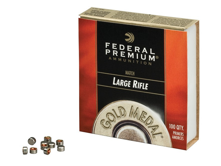 Federal Premium Gold Medal Large Rifle Match Primers #210M (100pk)