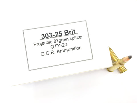 GCR 303-25 87 Grain Soft Point (20pk)