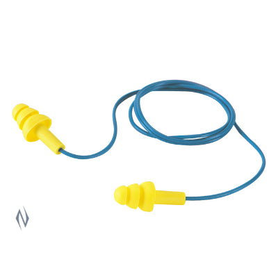 Peltor Ultra Fit Reusable Corded Ear Plugs with Case (340-4002)