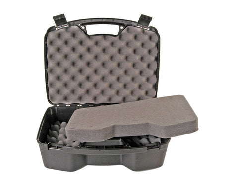 "MTM Four Pistol Case 15.5""x12.2""x5.6"" Black"