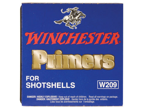 Winchester Primers #209 Shotshell (100pk)