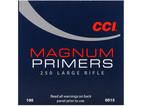 CCI Large Rifle Magnum Primers #250 (100pk)