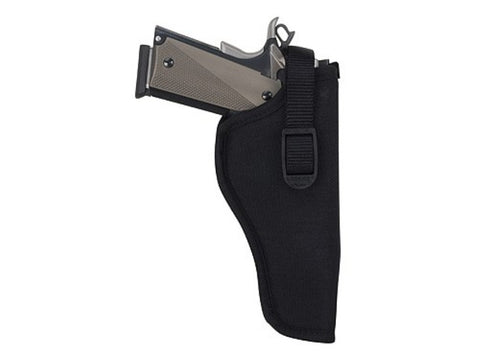 "Uncle Mike's Sidekick Hip Holster Right Hand Medium and Large Double Action Revolver 3"" to 4"" Barrel Nylon"