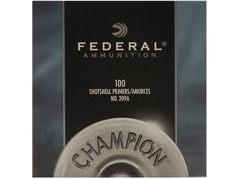 Federal Shotshell Primers #209A (100pk)