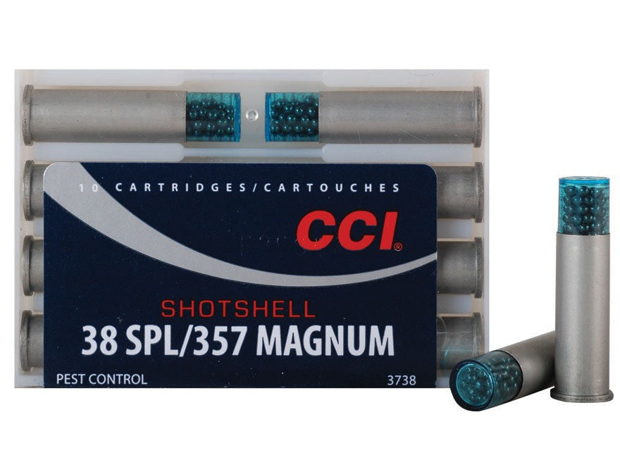 CCI Shotshell Ammunition 38 Special 100 Grains #9 Shot Box (10pk)