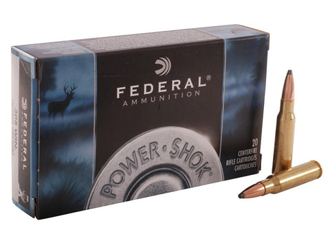 Federal Power-Shok Ammunition 308 Winchester 150 Grain Soft Point (20pk)