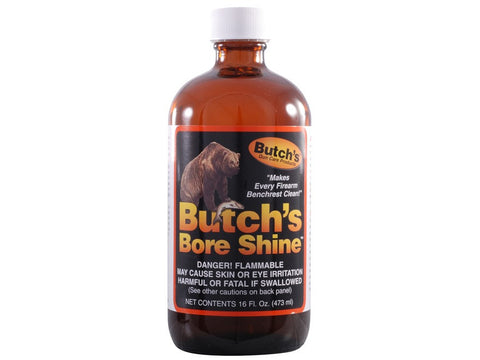 Butch's Bore Shine Bore Cleaning Solvent Medium 8oz