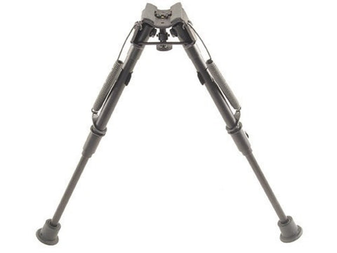 "Harris 1A2-L Bipod with Stud Mount 9"" to 13"" Black  Friction"