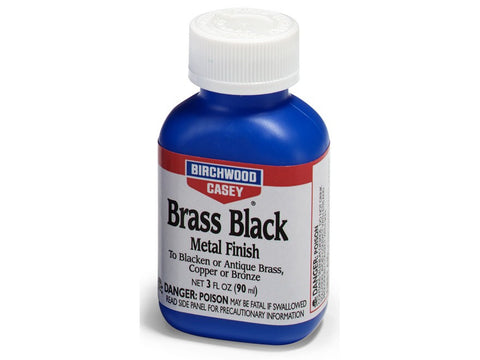 Birchwood Casey Brass Black Metal Finish (3oz)