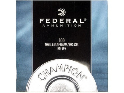 Federal Small Rifle Primers #205 (100pk)