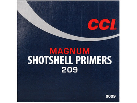 CCI Primers #209M Shotshell Magnum (100pk)