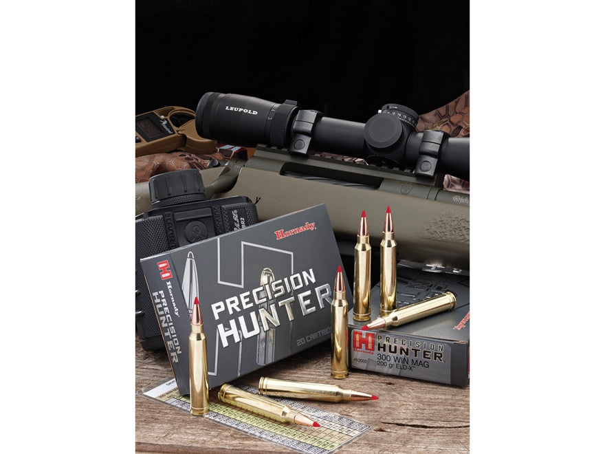 Hornady Precision Hunter Ammunition 308 Winchester 178 Grain ELD-X (20pk)