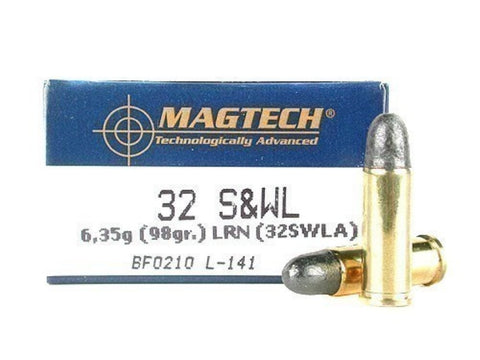 Magtech 32 S&W Long 98 Grain Lead Round Nose (50pk)
