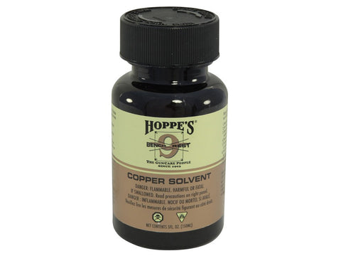 Hoppe's #9 Bench Rest Copper Bore Cleaning Solvent Liquid Small 5oz