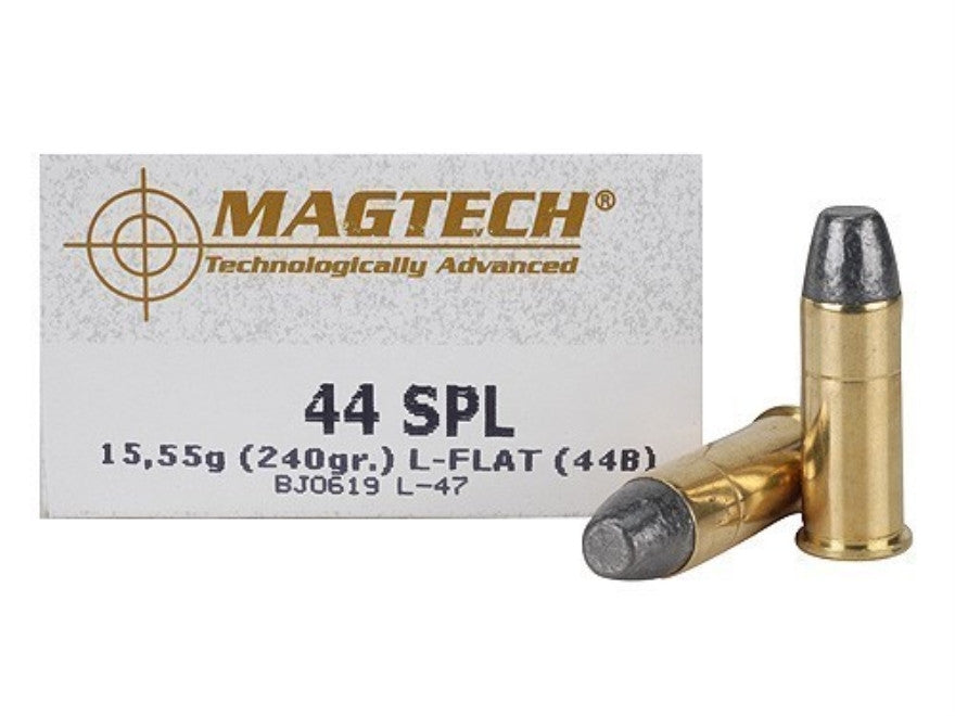 Magtech 44 Special 240 Grain Lead Flat Nose (50pk)