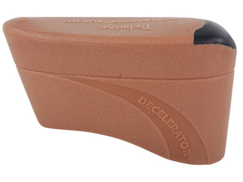 "Pachmayr Decelerator Recoil Pad Slip-On 3/4"" Thick Rubber Large Brown"