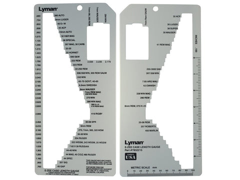 Lyman E-Zee Case Length Gauge II