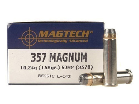 Magtech 357 Magnum 158 Grain Semi Jacketed Hollow Point  (50pk)