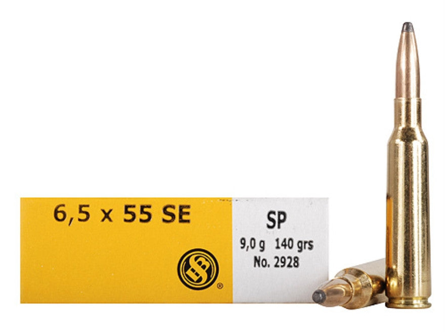 Sellier & Bellot 6.5x55 Swedish Mauser 140 Grain Soft Point (20pk)
