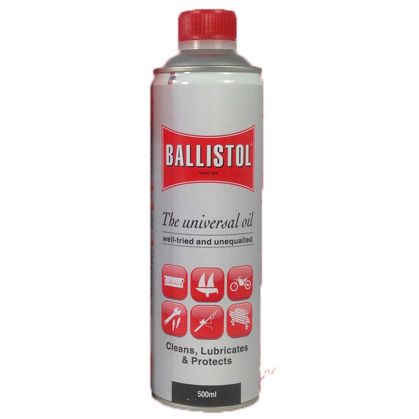Ballistol Cleaner, Lubricant & Protectant Synthetic Oil (500ml)