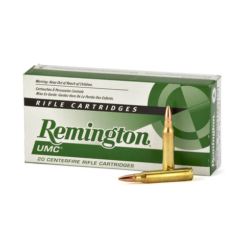 Remington UMC Ammunition 223 Remington 55 Grain Full Metal Jacket (20pk)