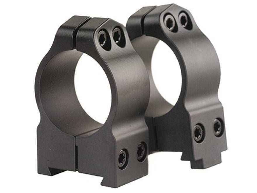 "Warne Permanent-Attachable Ring Mounts CZ 550, BRNO 602 (19mm Dovetail) 1"" Medium Matte"