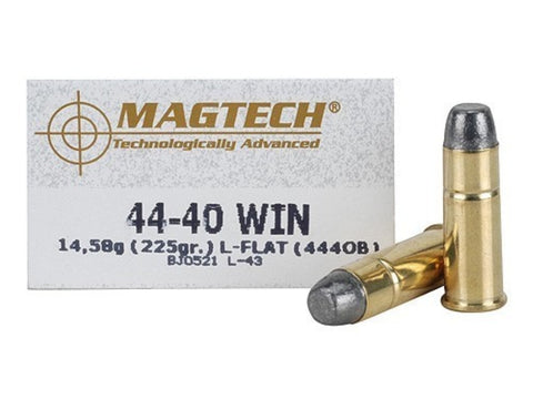 Magtech 44-40 Win 225 Grain Lead Flat Nose (50pk)