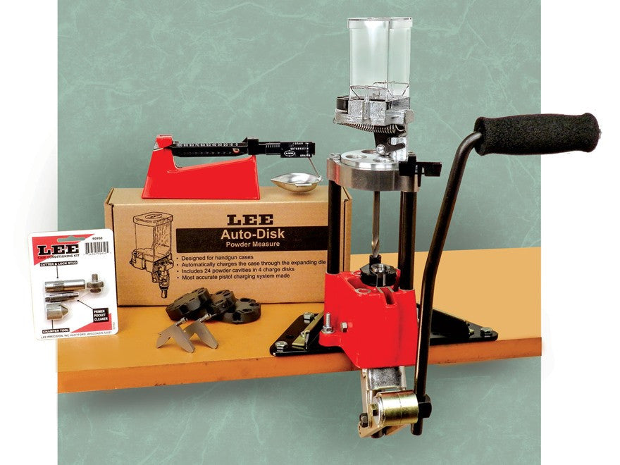 Lee 4 Hole Turret Press with Auto Index Value Kit (90928)