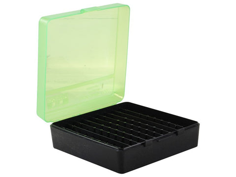 MTM Flip-Top Ammo Box 41 Remington Magnum, 44 Remington Magnum, 45 Colt (Long Colt) 100-Round
