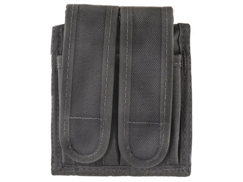 Uncle Mike's Universal Double Magazine Pouch Hook-&-Loop Fastener Nylon