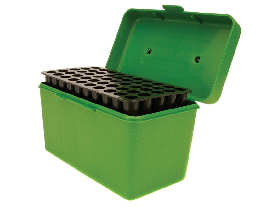 MTM Deluxe Flip-Top Ammo Box with Handle 264 Winchester Magnum to 458 Winchester Magnum 50-Round