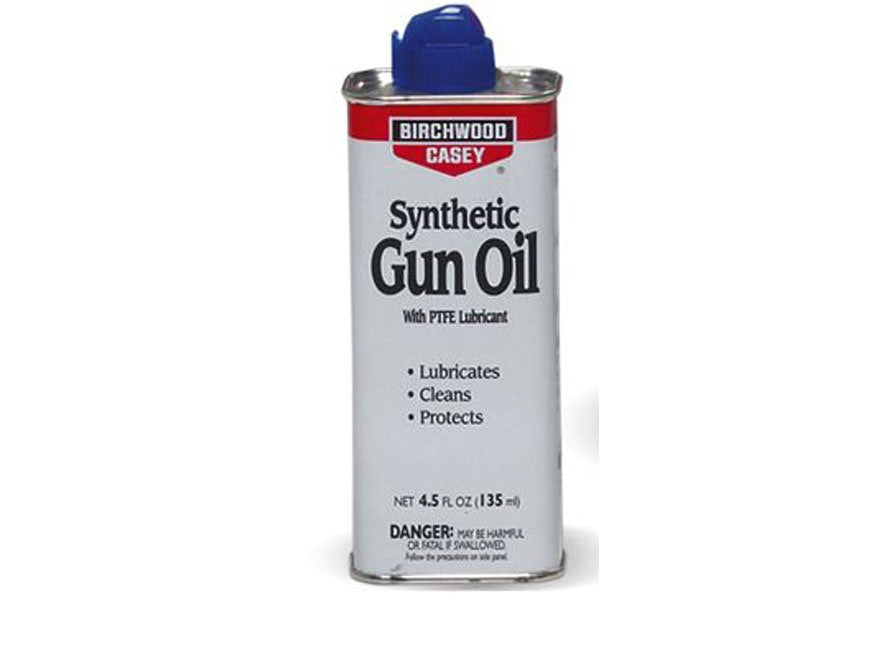 Birchwood Casey Liquid Synthetic Gun Oil (4.5oz)