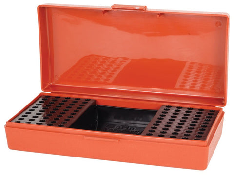 MTM Flip-Top Ammo Box 22 Long Rifle 100-Round Plastic Red
