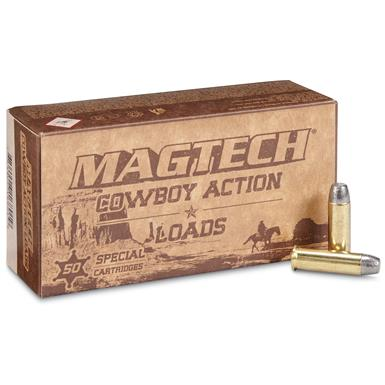 Magtech Cowboy Action Loads 38 Special 125 Grain Lead Flat Nose (50pk)
