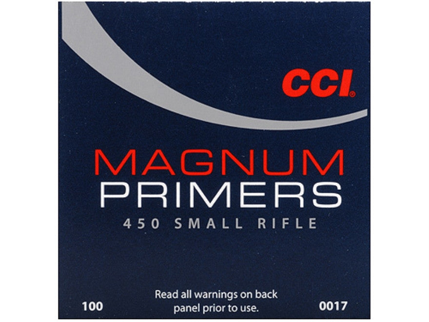 CCI Small Rifle Magnum Primers #450 (100pk)