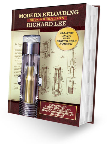"""Lee Precision Modern Reloading 2nd Edition New Format"" by Richard Lee"